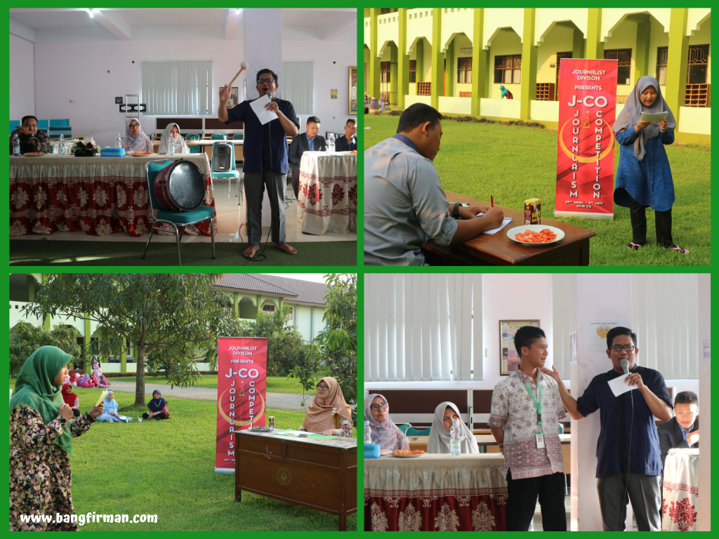 - Lomba JCO Jurnalistik 1 - Tantangan Melangitkan Literasi di Kalangan Santri
