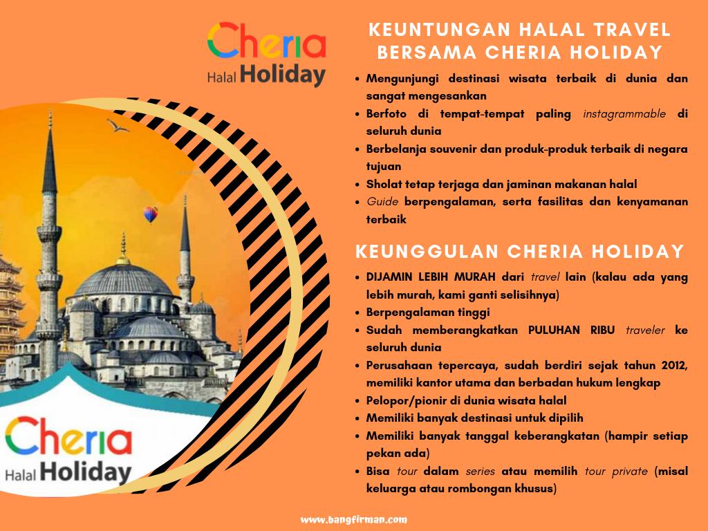 Menyebarkan Denyut Wisata Halal ke Berbagai Destinasi Traveling
