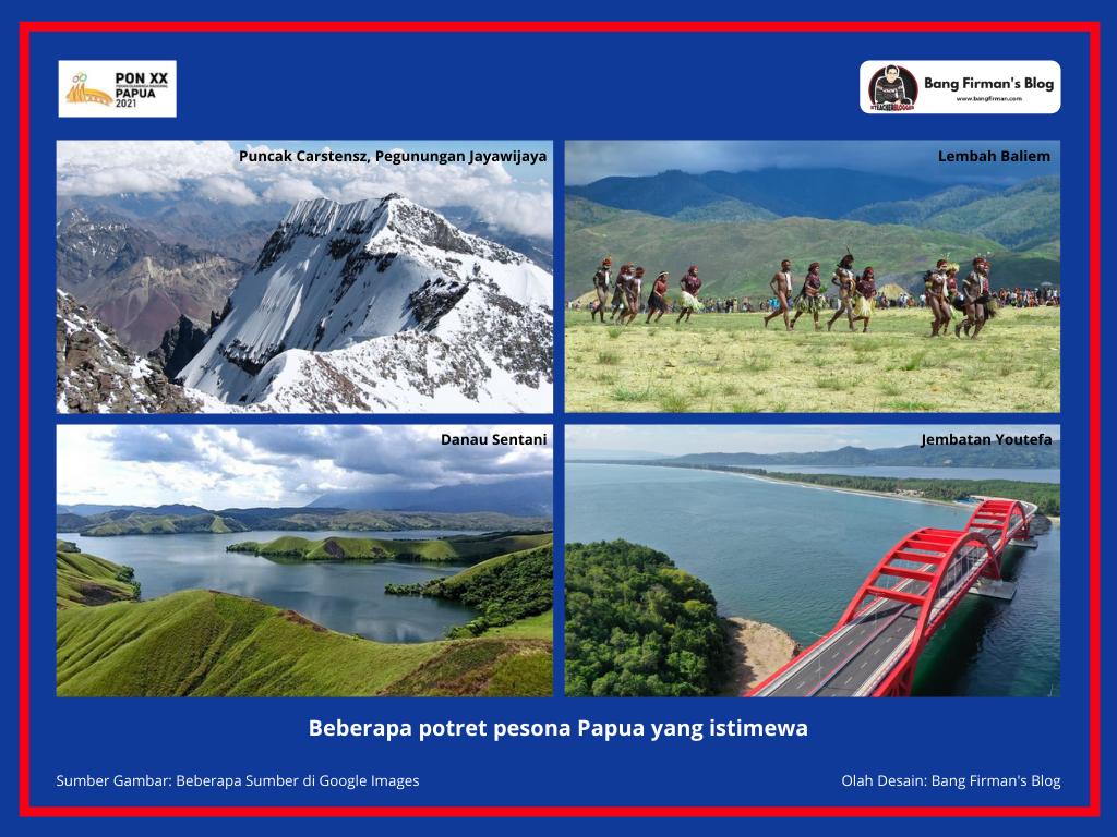 Gambar 1 PON Papua