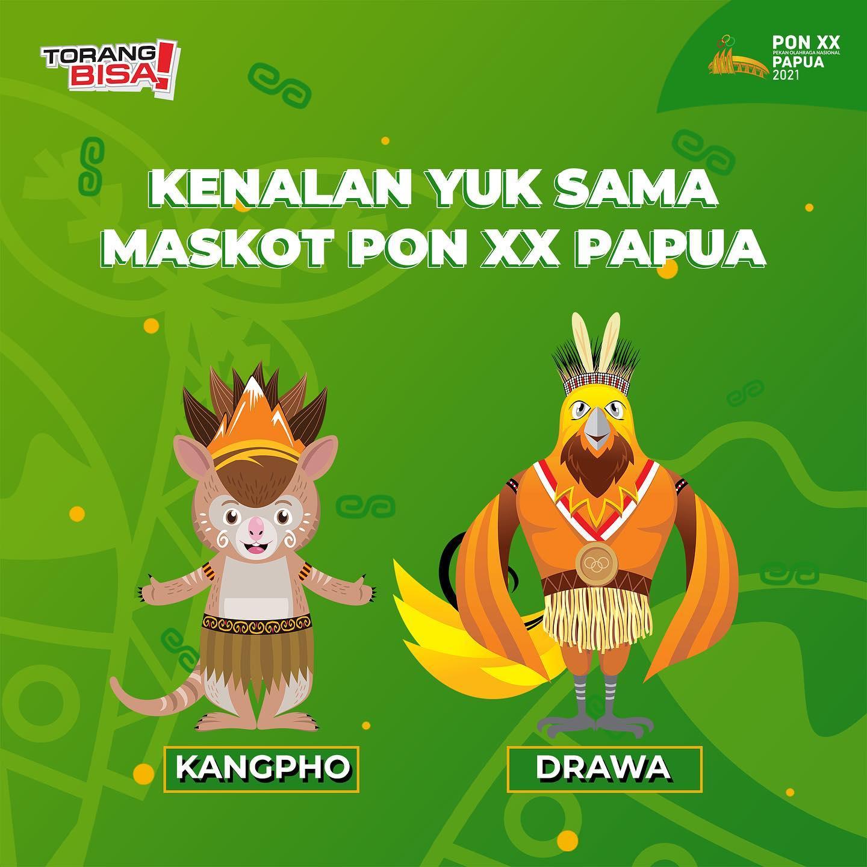 Maskot PON XX Papua