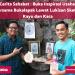 Cerita Sahabat : #BukaInspirasi Usaha Bersama Bukalapak Lewat Karya Lukisan Sketsa Kayu dan Kaca