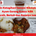 Bikin Ketagihan! Sensasi Nikmatnya Ayam Goreng Krezzz ABB. Bersih, Berkah dan Rasanya Juara!